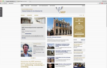 NRP Website - responsive webdesign - SIM.ONE grafisch ontwerp